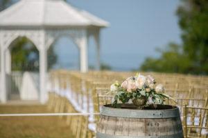 Outdoor Wedding Ceremony Niagara Love Madly